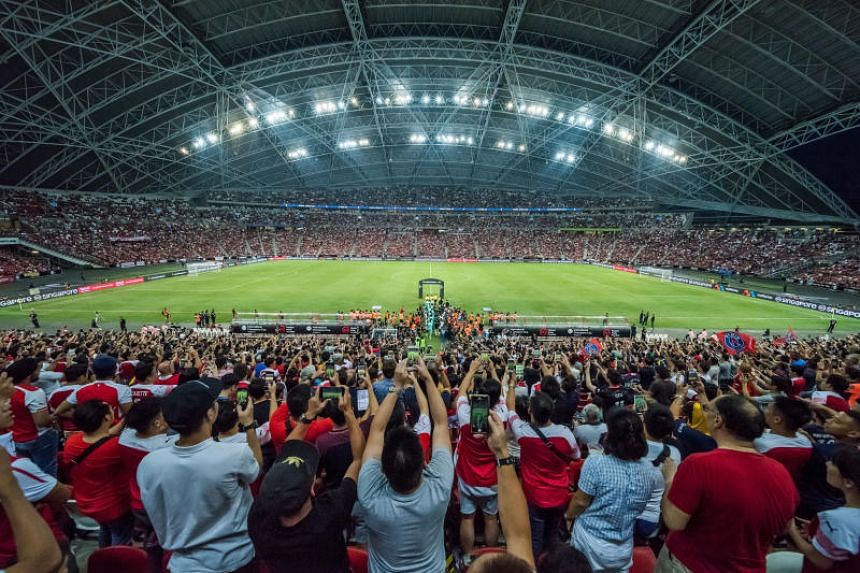 Enhanced entry screening measures will be implemented around the National Stadium for the matches next Saturday and Sunday.