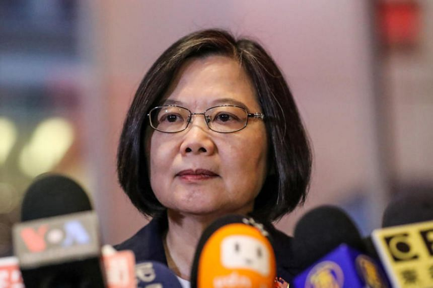 China calls on United States  to cancel Taiwan President's transit stop