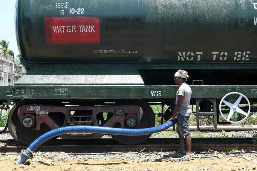 Four special trains a day have been called up to bring water to Chennai - India's sixth most populous city - from Vellore, some 125km away, to help battle the drought.