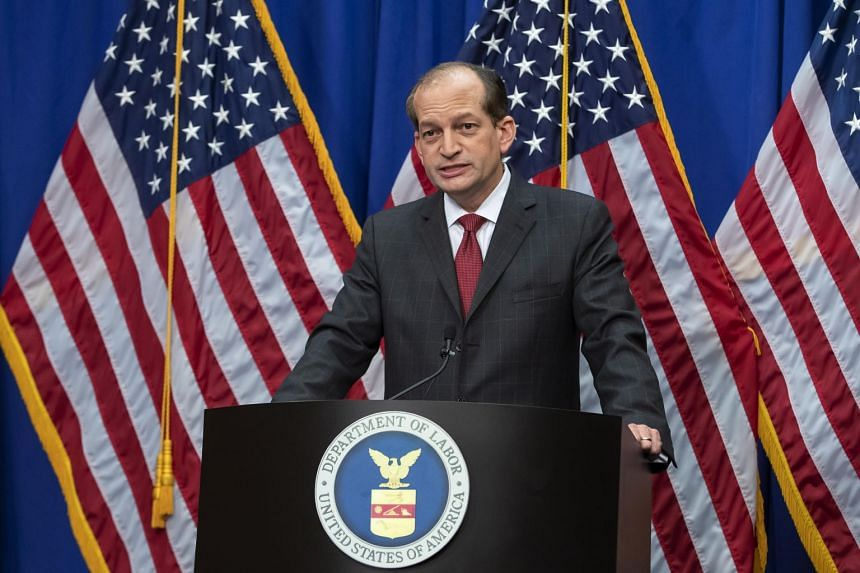 US Secretary of Labor Alex Acosta announced his resignation on July 12 amid criticism of a secret plea deal he negotiated a decade ago with Jeffrey Epstein, the financier accused of sexually abusing young girls.