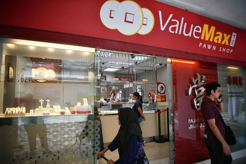 Employees said the masked man entered ValueMax at Block 213 Bedok North Street 1 brandishing the blade, then swung it on the glass counter around 11am on July 12, 2019.