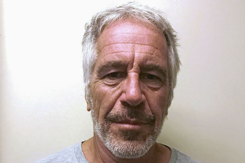 Epstein appears in a photograph taken for the sex offender registry in 2017.