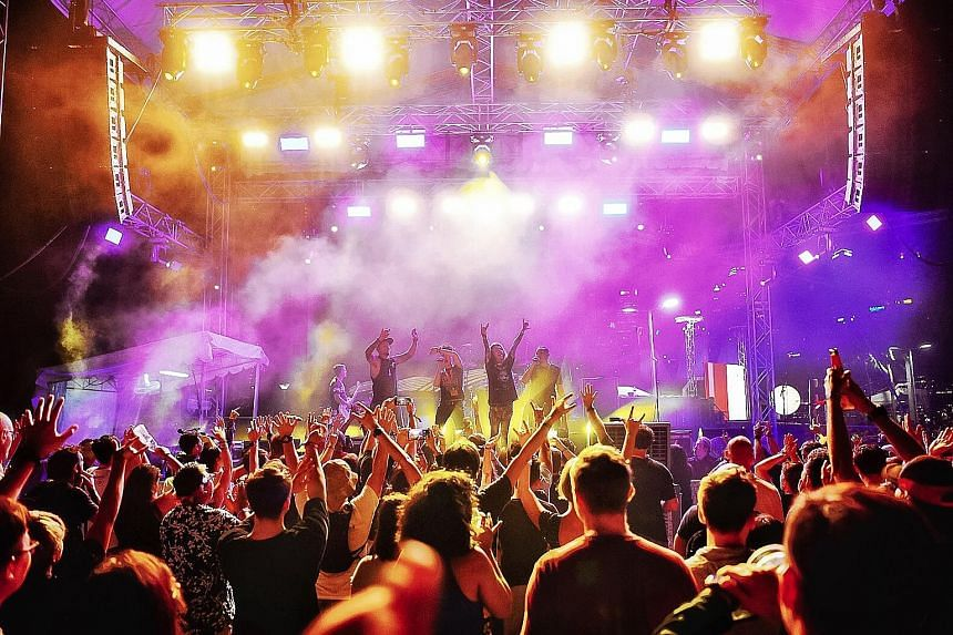 Beerfest Asia this year had two international DJs and themed music nights.