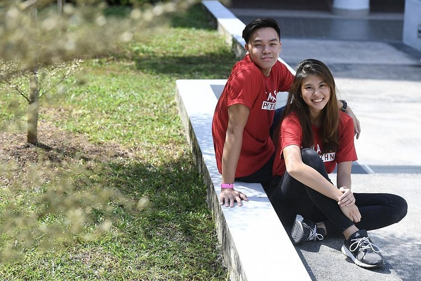 Temasek Polytechnic students Kenneth Lim and Cecilia Soh are both keen to apply for the new programme, as it will allow them to graduate with a degree faster. It will also provide job security as they will return to their sponsoring companies after g