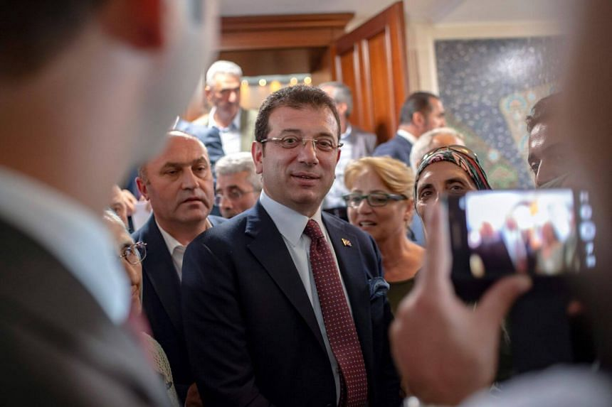 Mr Ekrem Imamoglu (pictured) of the secular Republican People's Party, knows he must find a way to work with President Recep Tayyip Erdogan.