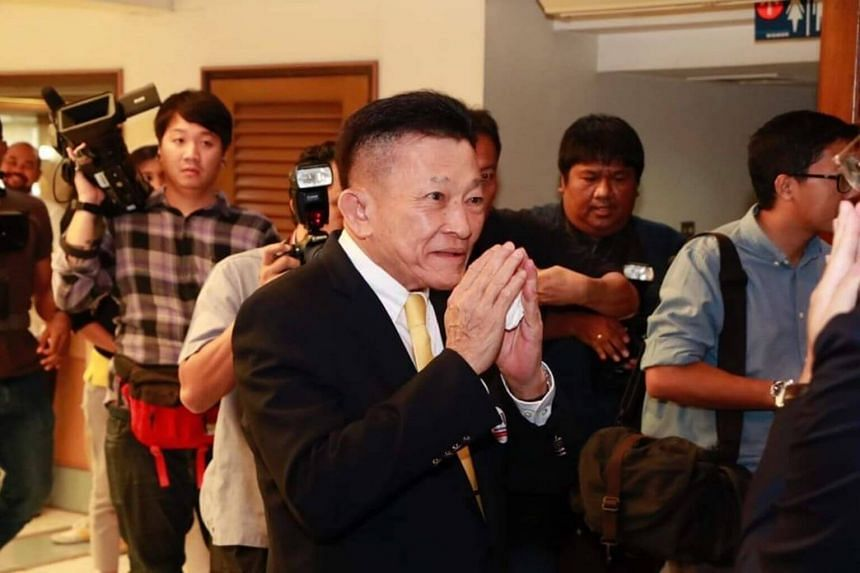 Sompong Amornvivat (pictured) was picked at a special assembly to succeed acting head Viroj Pao-in, who resigned earlier this month.