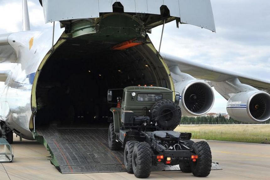 The fresh shipment of advanced Russian air defence equipment to Turkey is expected to trigger US sanctions against a NATO ally.