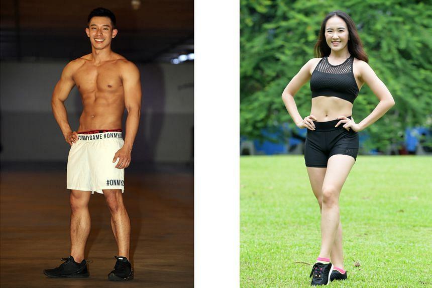 Left: Cavell Lim, 26.  Right: Christina Cai, 20.