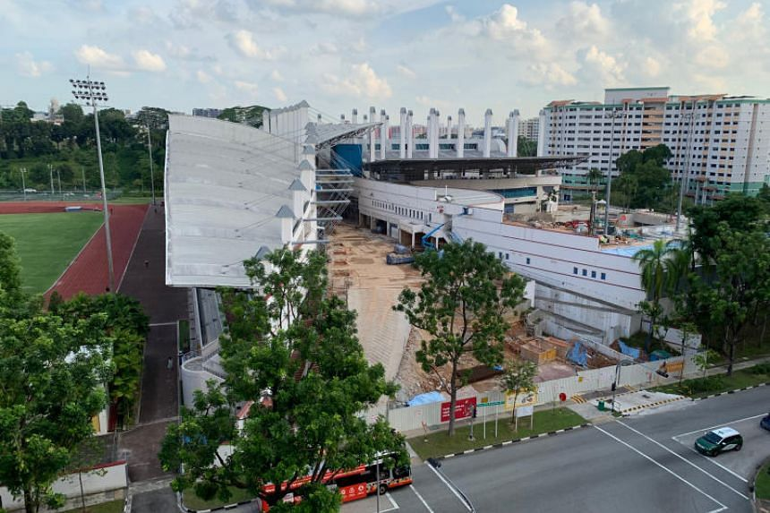 Choa Chu Kang Stadium undergoing extensive upgrading work, which has affected the revenue-generating efforts of Warriors FC.
