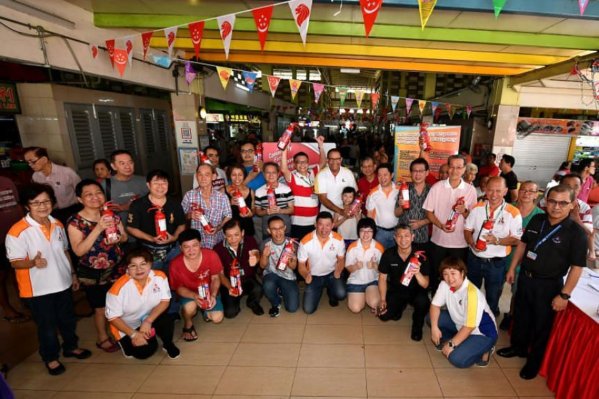 The West Coast 726 Hawkers' Association aims to get at least half of the nearly 200 stalls at West Coast Market Square to complete the course by the end of the year.