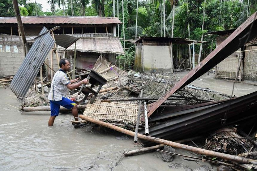 The June to September monsoon causes widespread death and destruction across South Asia each year.