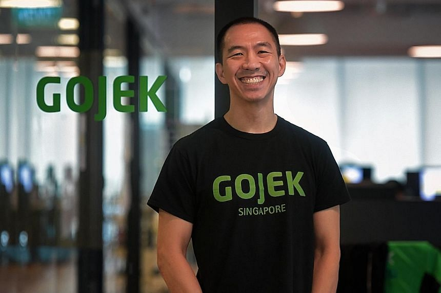 Gojek Singapore general manager Lien Choong Luen says it is considering the suitability of the Singapore market for different services, but right now it wants to ensure the best ride-hailing services. ST PHOTO: KUA CHEE SIONG