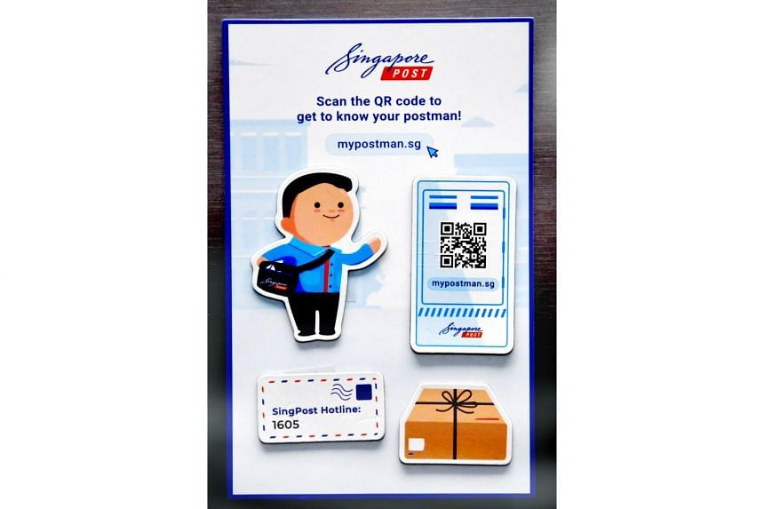 SingPost will be mailing out close to two million sets of fridge magnets to every household and business unit in Singapore as part of its MyPostman campaign.
