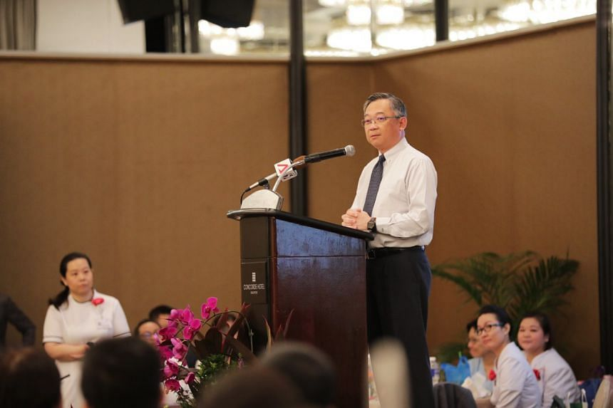 Health Minister Gan Kim Yong noted that Singapore's nursing workforce grew by 17 per cent between 2013 and 2018. There were around 42,000 nurses as of last year.