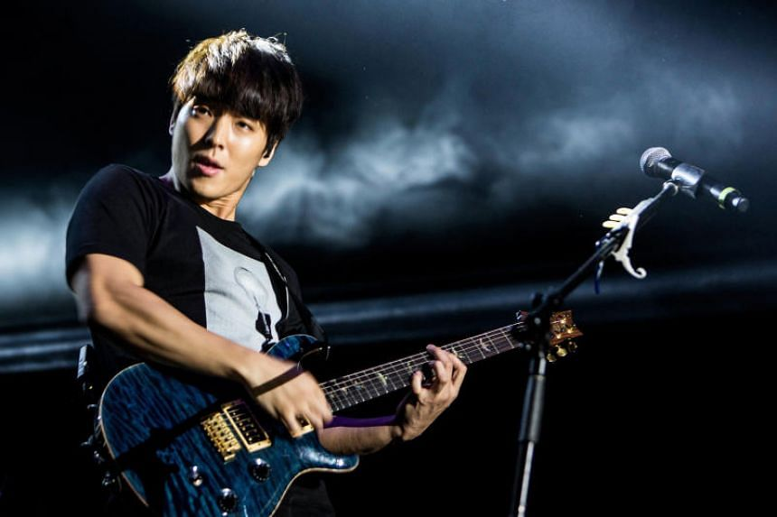Former FT Island member Choi Jong-hoon (above) and  singer-songwriter Jung Joon-young are contesting the sexual-assault charges levelled against them.