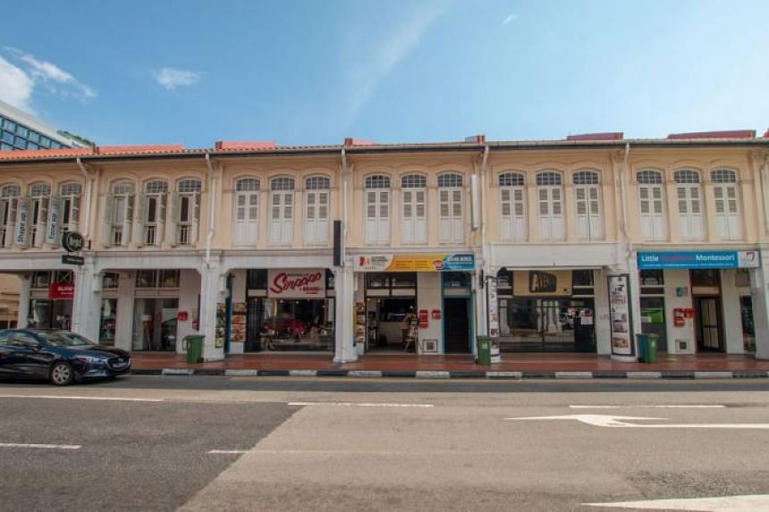 The public tender exercise for the shophouses at 454-464 Joo Chiat Road will close on Aug 30, 2019.
