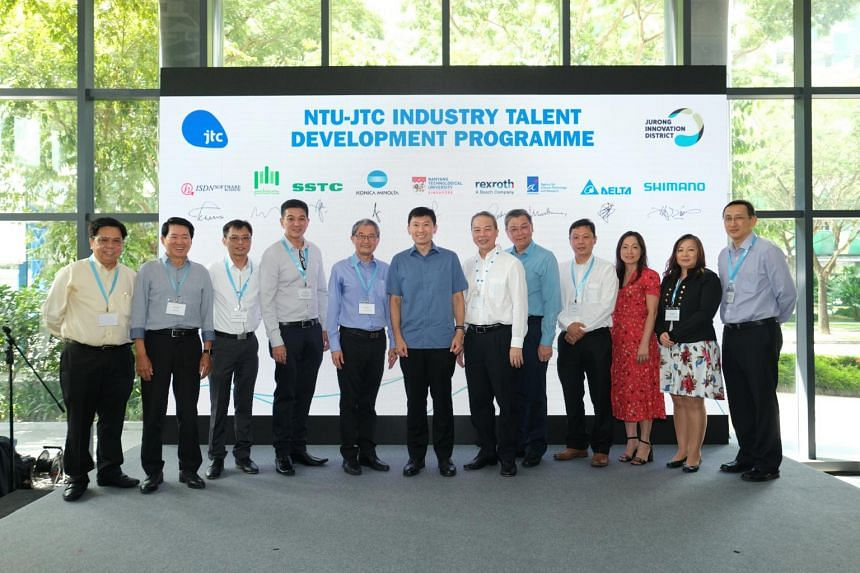 The NTU-JTC Industry Talent Development Programme will allow more than 200 NTU students to try out internships and projects with eight industry partners.