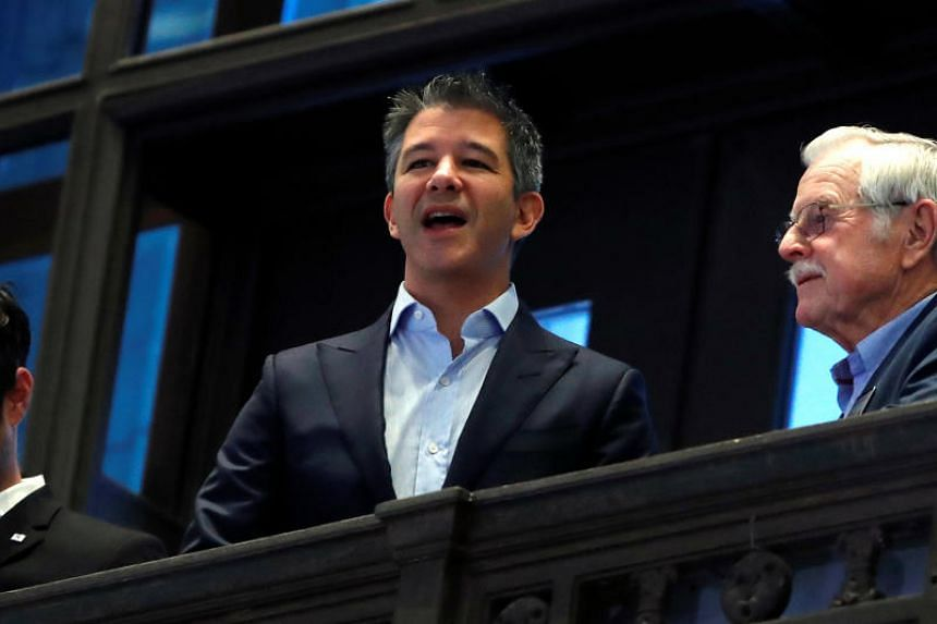 Mr Travis Kalanick is reportedly eyeing a global network of kitchens.