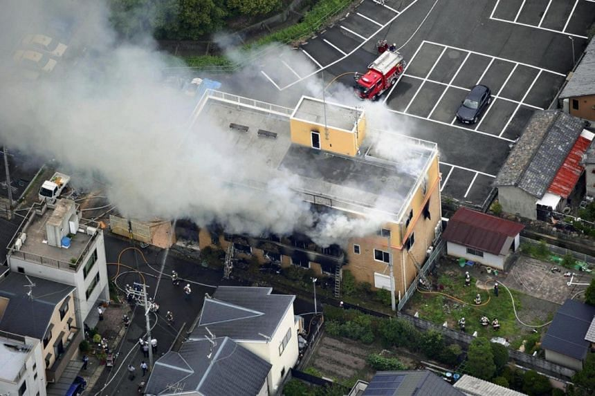 The fire was believed to have been started deliberately, officials said.