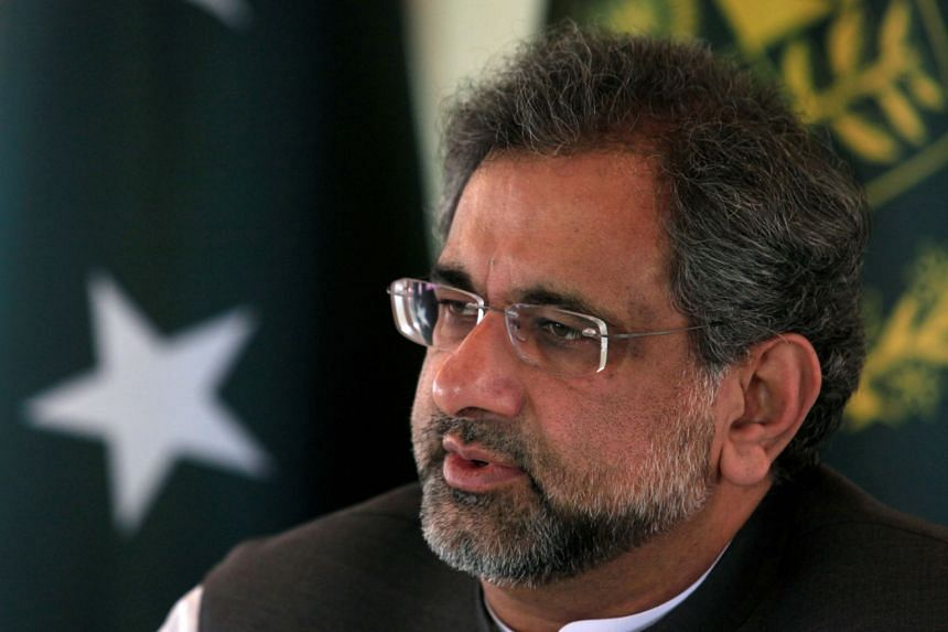 Former Pakistani prime minister Shahid Khaqan Abbasi was taken into custody in the eastern city of Lahore and is set to appear in an anti-corruption court.