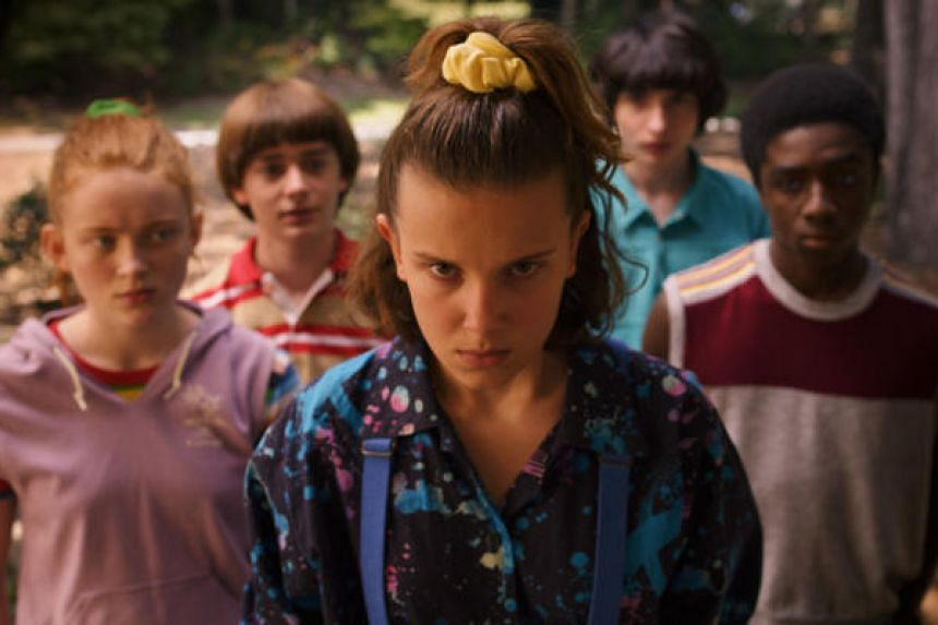 """Netflix is banking on growing its streaming customers with help from a new season of supernatural thriller """"Stranger Things""""."""