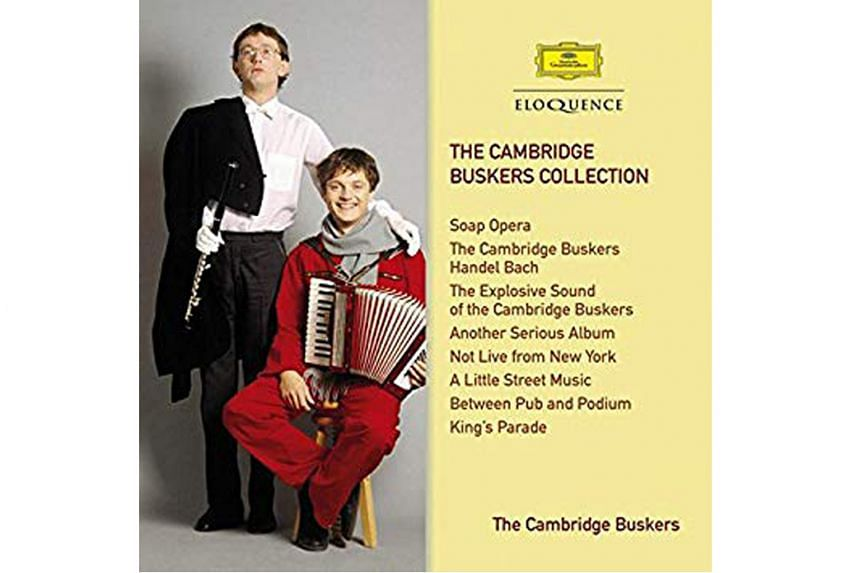 THE CAMBRIDGE BUSKERS COLLECTION.