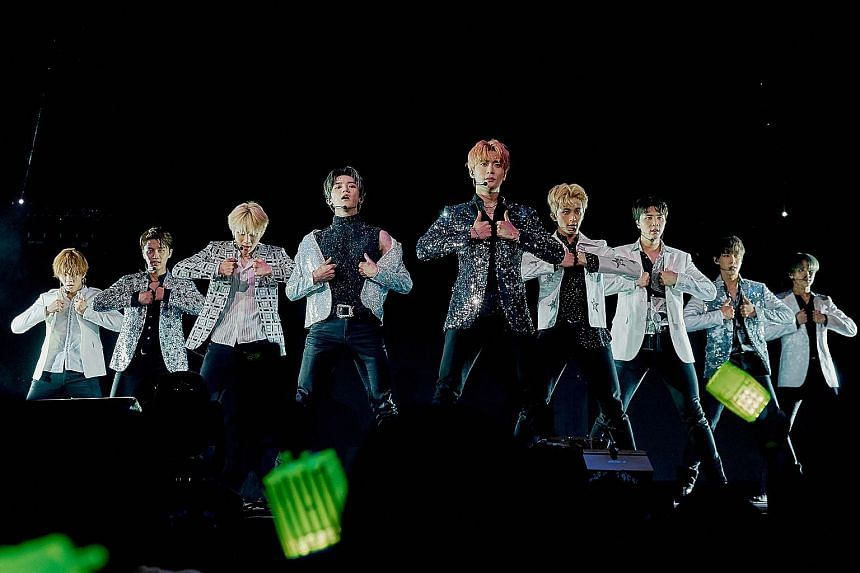 South Korean boy band NCT 127 will perform at the Singapore Indoor Stadium tomorrow.