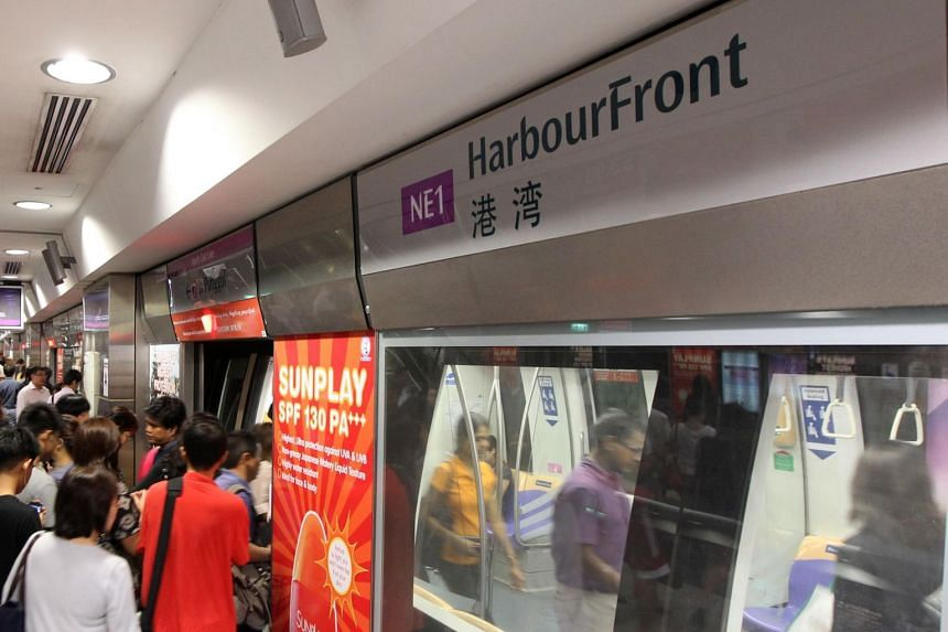 Transport operator SBS Transit attributed the delay to a track fault at HarbourFront MRT station.