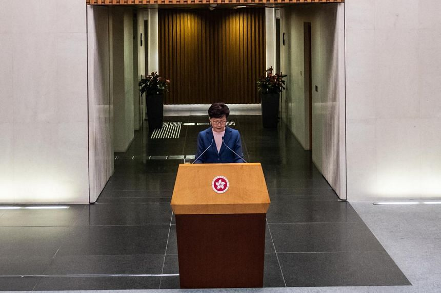 In her October address, Hong Kong Chief Executive Carrie Lam plans to emphasise that the government will improve its consultation with the public before rolling out new draft laws or policies.