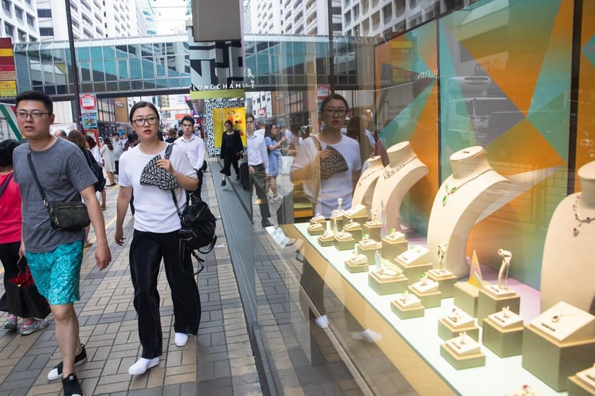 Luxury retailers in Hong Kong have been hit amidst the recent protests.