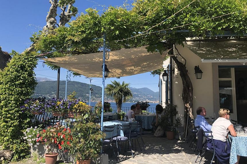 Ristorante Italia is owned by a fisherman on Isola dei Pescatori, an island of fisheries in Italy's Lake Maggiore.