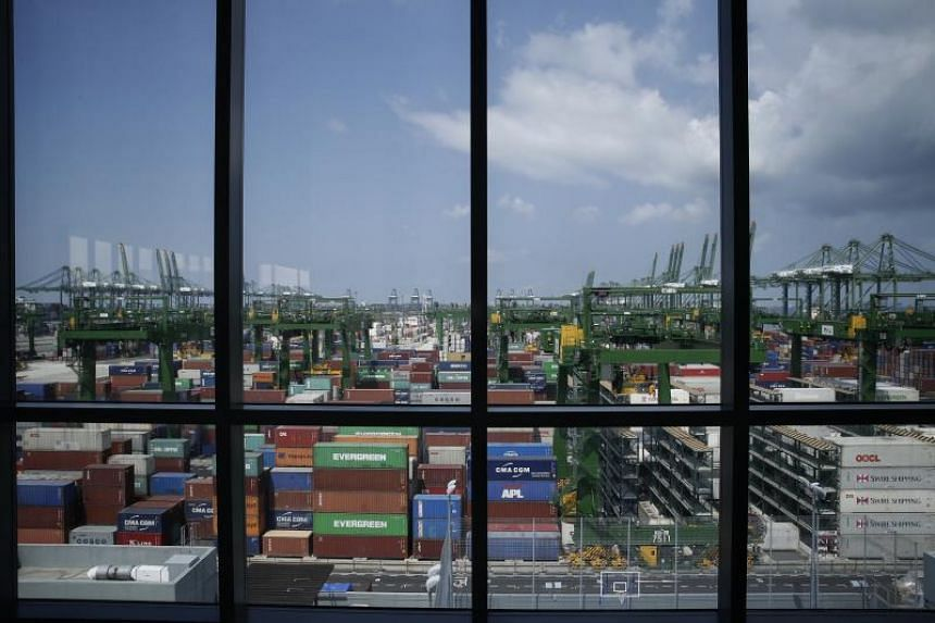 Singapore is a major producer of electronics and semiconductors, both of which have been hit by trade war uncertainties.