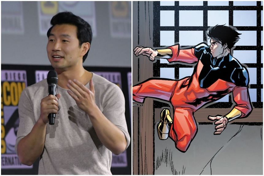 Canadian-Chinese actor Simu Liu will be portraying Shang-Chi in the upcoming Marvel film of the same name.