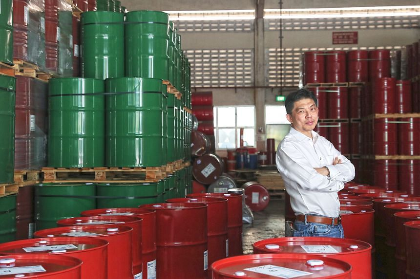 Mr Erman Tan, chief executive of Asia Polyurethane Manufacturing, says the trade war has forced manufacturers to do business at a reduced volume with lower margins.