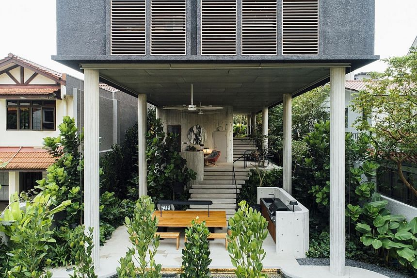 The biggest winner of the Singapore Institute of Architects Architectural Design Awards is home-grown firm ipli Architects, which picked up Building of the Year and a design award for a residential project, House Above 44 Kasai Road, located off Yio Chu K
