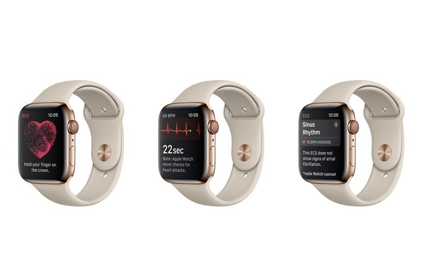 Apple emphasised that the Apple Watch Series 4's ECG feature cannot detect a heart attack, blood clots, stroke or other heart-related conditions.