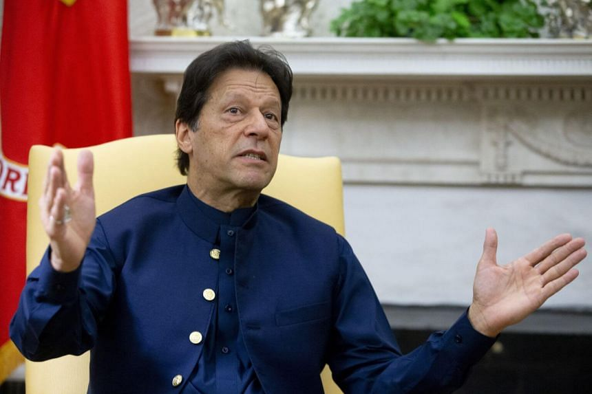 Pakistan's Prime Minister Imran Khan made his claim in an interview with Fox News.