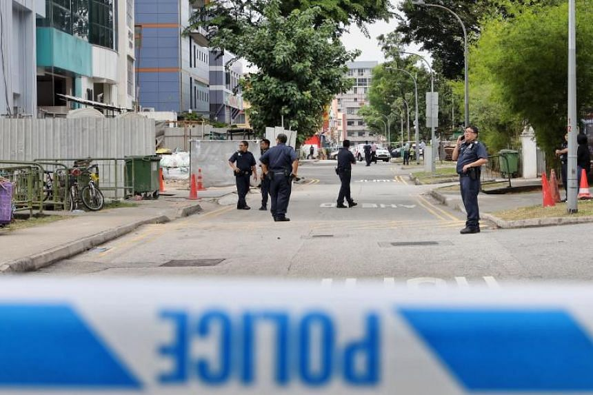 Police were called to the scene at around 10am on July 23, 2019. By 12.15pm, the entire street was cordoned off.