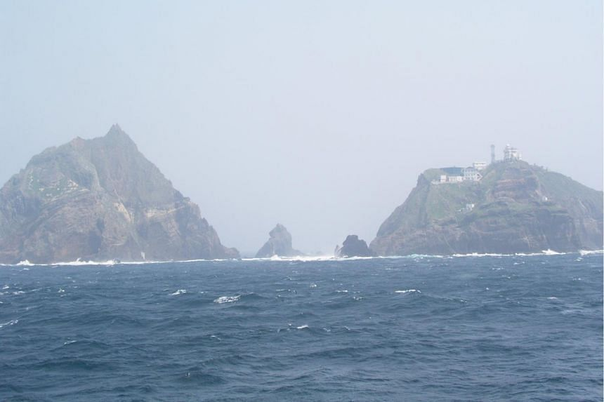 South Korea's Dokdo in 2005. According to the South Korean military, the Russian aircraft violated its airspace over the island on July 23, 2019.