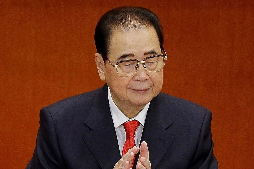 """The Xinhua news agency, in its obituary, called Mr Li Peng a """"tried-and-tested, staunch communist warrior and an outstanding socialist revolutionary""""."""