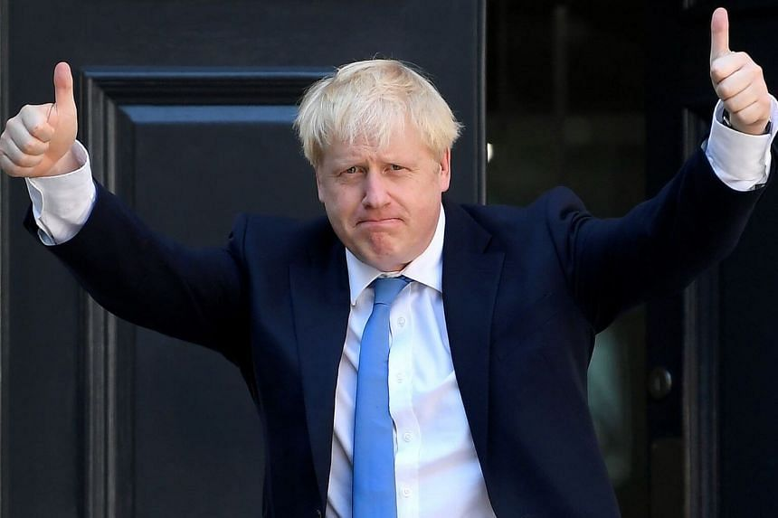 Britain's stalled departure from the European Union, which forced Boris Johnson's predecessor Theresa May from power, is the most pressing problem confronting him on day one.