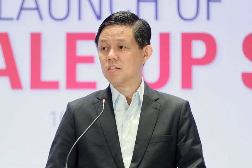 Trade and Industry Minister Chan Chun Sing said designers in Singapore can help to create solutions for major challenges.