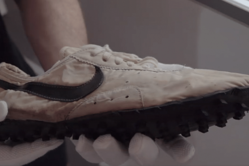 Nike running shoes sold for US$437,500
