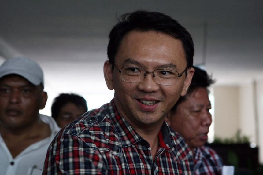 """Former Jakarta governor Basuki """"Ahok"""" Tjahaja Purnama was convicted of blasphemy in 2017, following a series of sectarian rallies staged by Muslim conservatives."""