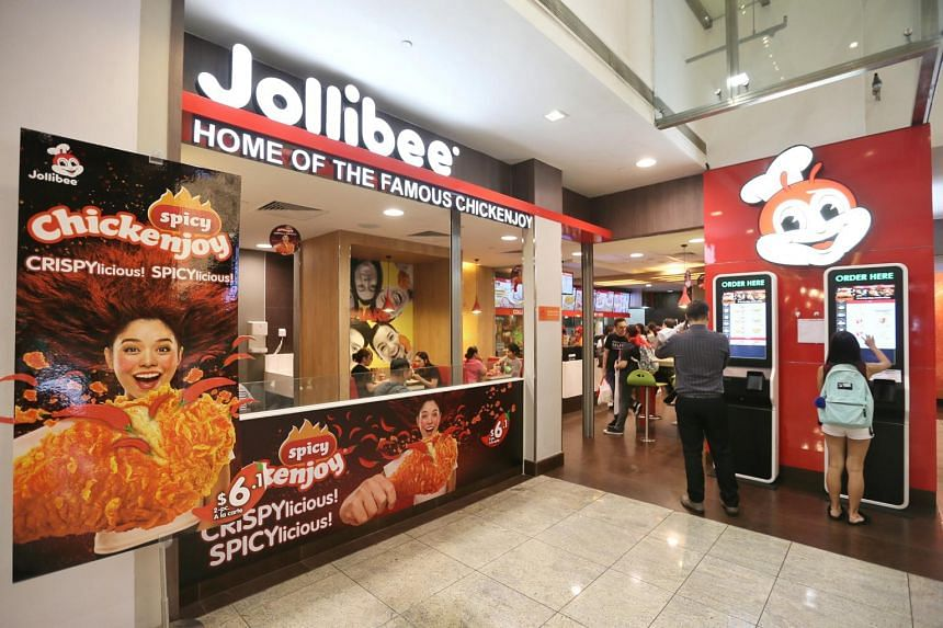 A Jollibee outlet in Novena. The company operates the largest fast-food chain in the Philippines with 3,195 restaurants.