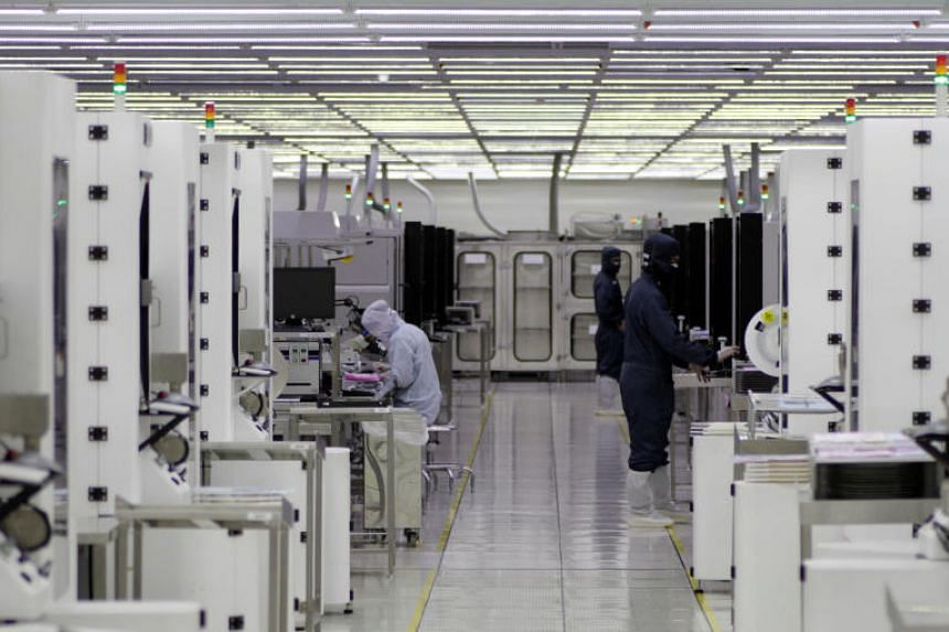 Many of the world's biggest chipmakers have operations in Singapore.