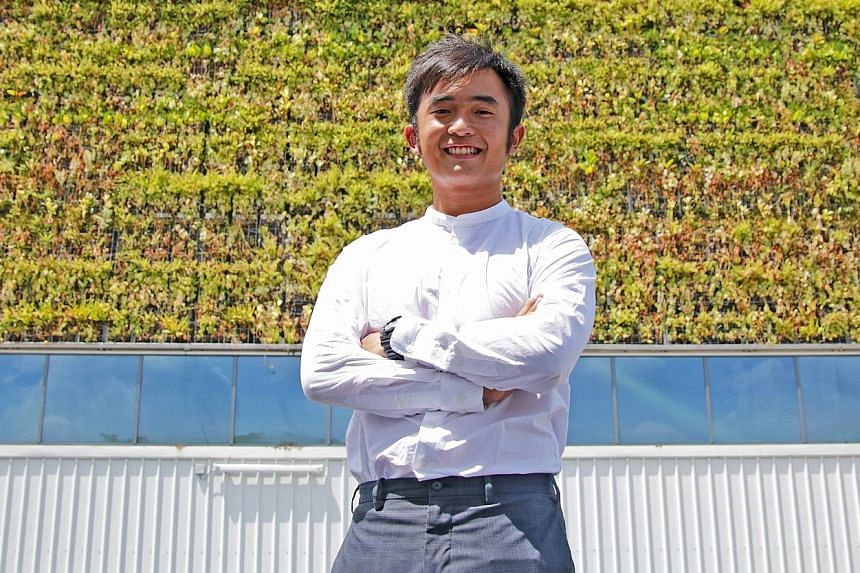 Mr Zac Toh, 27, founded urban greenery specialist GWS Living Art in 2012. It has clinched several notable projects in recent years.