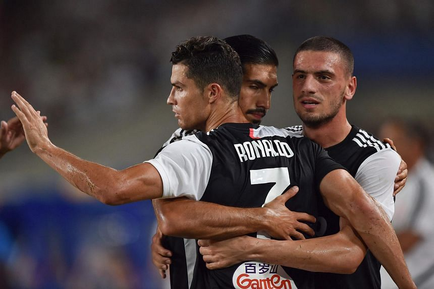 The game ended 1-1 after 90 minutes, with Cristiano Ronaldo drawing Juventus level with a deflected second-half free kick following Matthijs De Ligt's own goal.