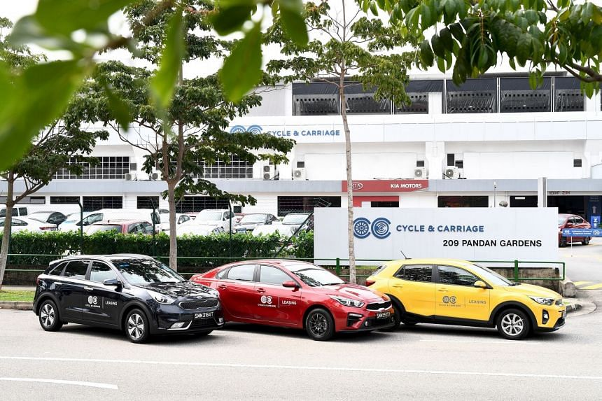 Cycle & Carriage Singapore enters car leasing business, ties