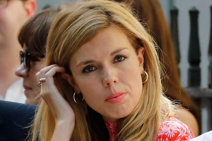 Carrie Symonds: Britain's new 'first girlfriend', Europe ...